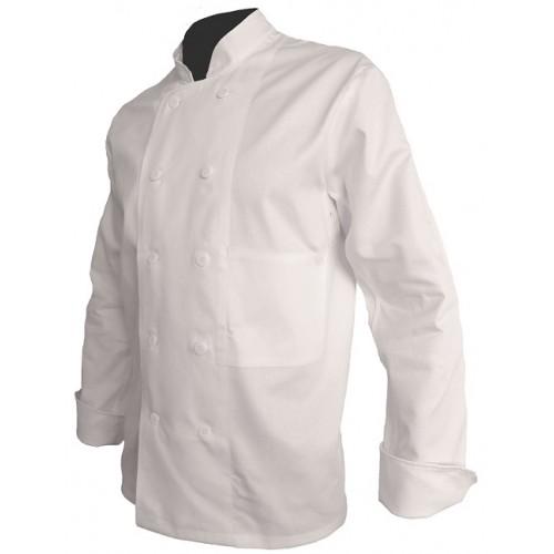 Veste de cuisine coton manches longues