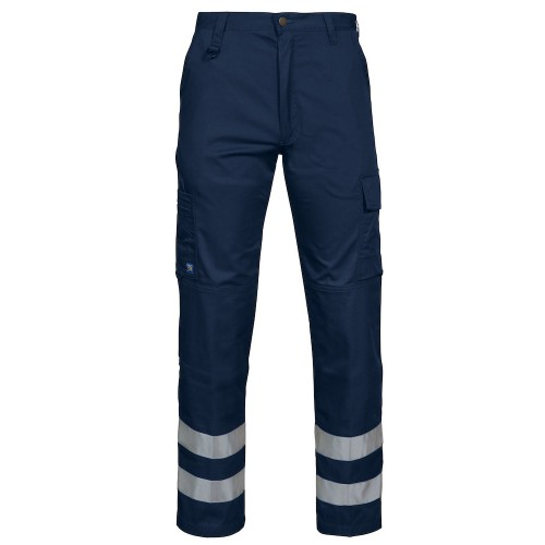 Pantalon de travail avec bandes réfléchissantes
