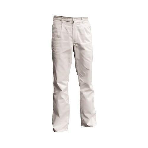 Pantalon blanc pour cuisinier