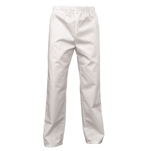 Pantalon blanc médical