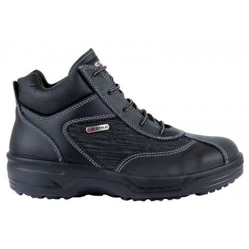 Chaussure de sécurité haute destinée aux femmes