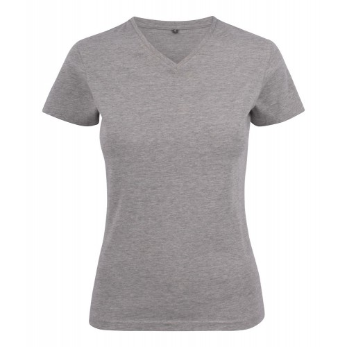T-shirt col V pour Femme