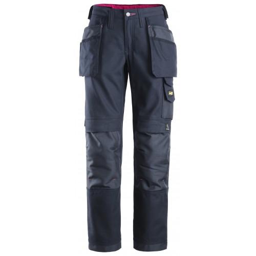 Pantalon de travail femme avec poches holster