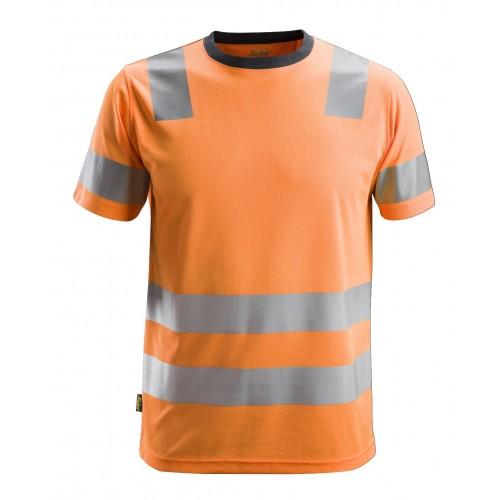 T-shirt haute visibilité, AllroundWork