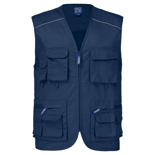 Gilet sans manches multipoches