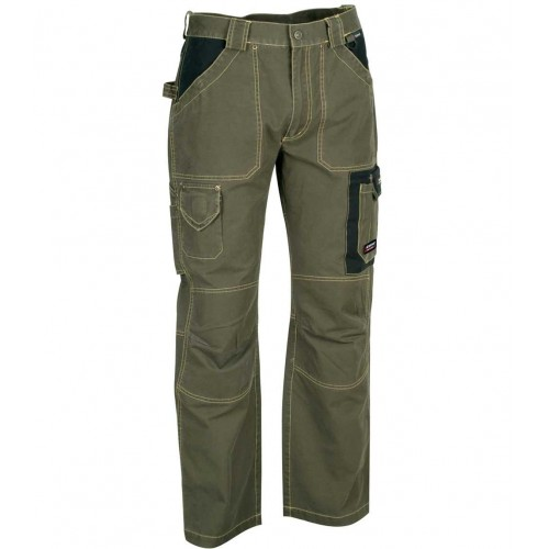 Pantalon de travail 100% coton canvas
