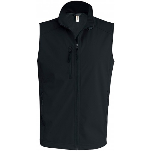 Gilet sans manches softshell