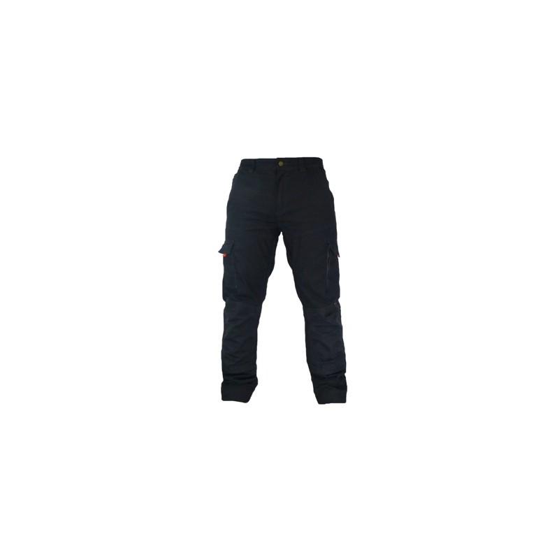 Pantalon de travail poches genoux.