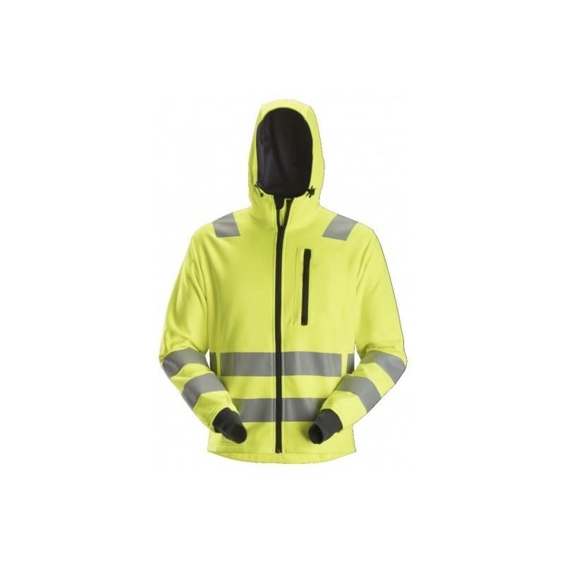Sweat à capuche zippé haute visibilité - Classe 2/3